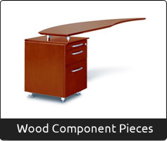Wood Component Pieces