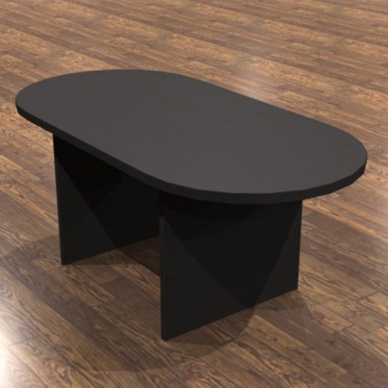 Cherryman Amber Racetrack Conference Table A - Hon racetrack conference table