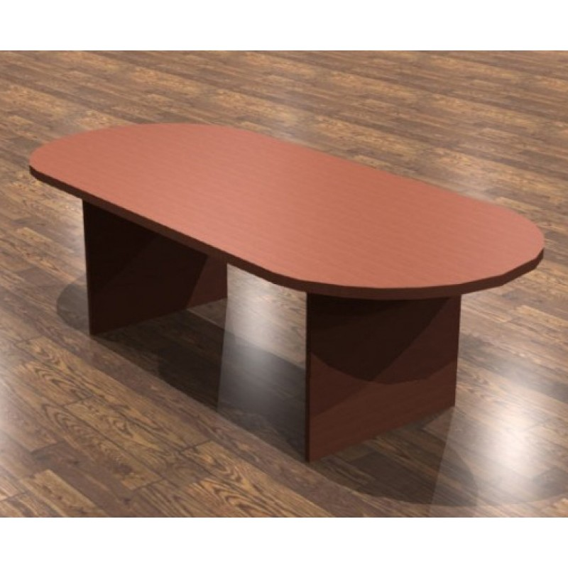Cherryman Amber Racetrack Conference Table A - Cherry wood conference table