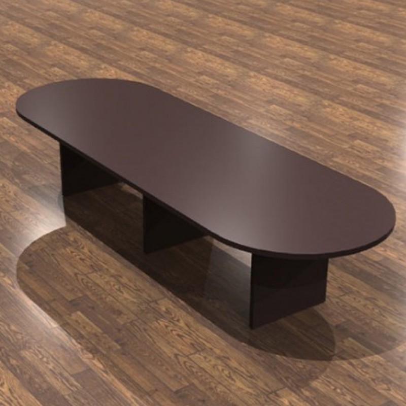 Cherryman Amber Laminate Racetrack Conference Table AM - 144 conference table