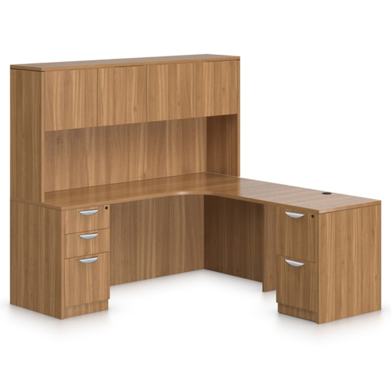 Offices To Go Superior Laminate Executive L Desk With 71