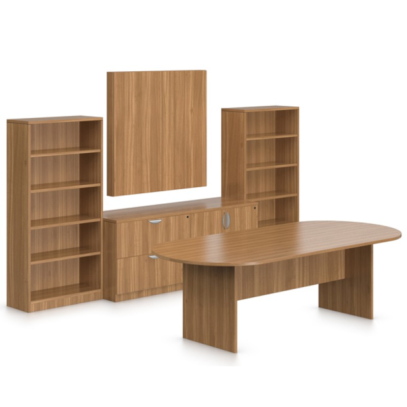 Offices To Go Superior Laminate Boardroom Conference Suite With - Conference table with storage