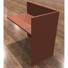 "Cherryman Amber 42"" x 24"" Reception Desk Return Shell Non-handed - A124"