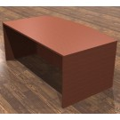 "Cherryman Amber 71"" Bow Front Desk Shell - A822"