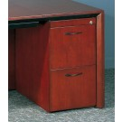 Mayline Corsica File File Wood Pedestal Filing Cabinet for Credenza/Return CFFC