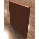 Cherryman Amber Presentation Board With Fully Extending Doors Dry-Erase And Tack Boards Inside - A120